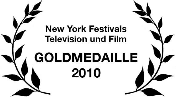Goldmedaille in der Kategorie Investigative Report auf dem New York Festivals Television und Film