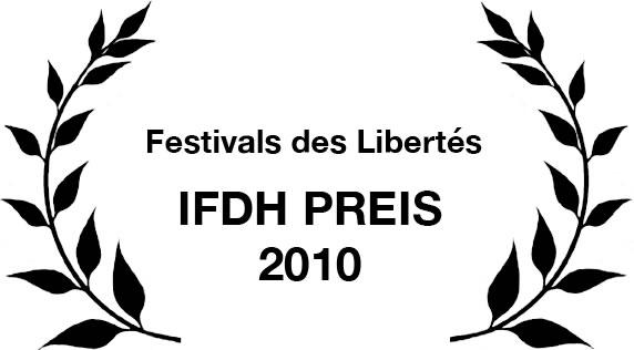 IFDH Preis des Festivals des Libertés in Belgien