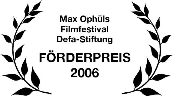 Förderpreis der DEFA-Stiftung beim Max Ophüls Filmfestival